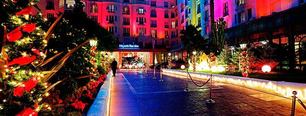 Le Majestic hotel i Cannes.