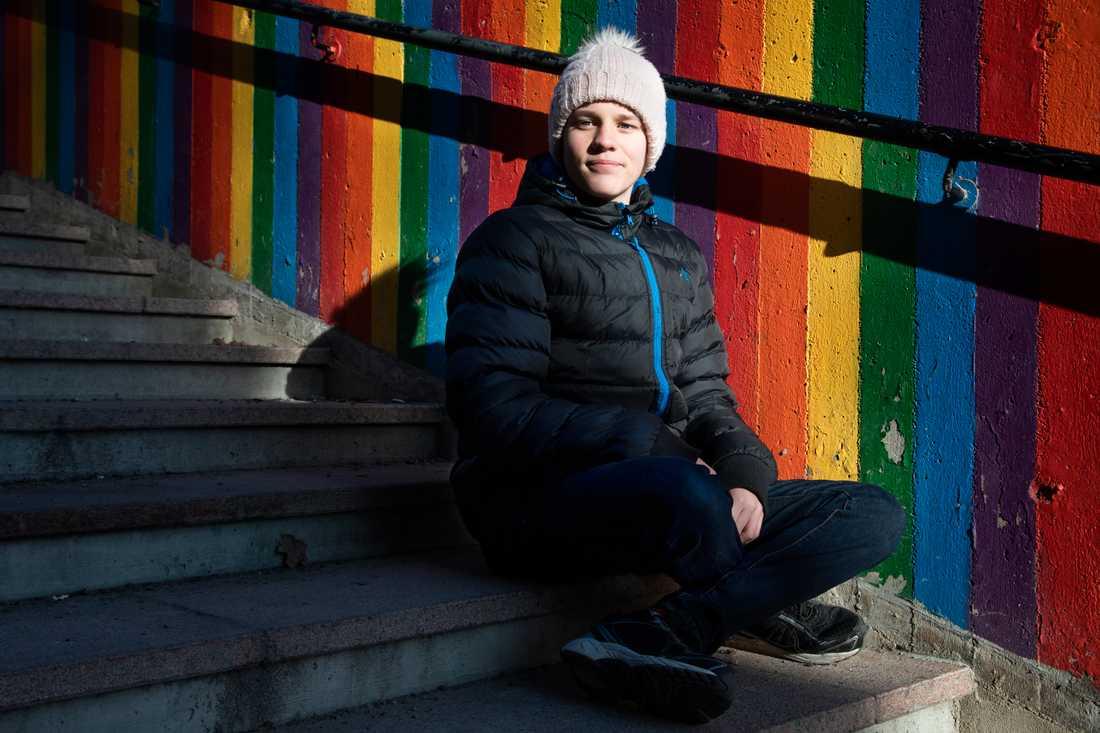 Utöver klimataktivismen är Andreas Magnusson även engagerad i andra frågor kopplade till alla människors lika värde.
