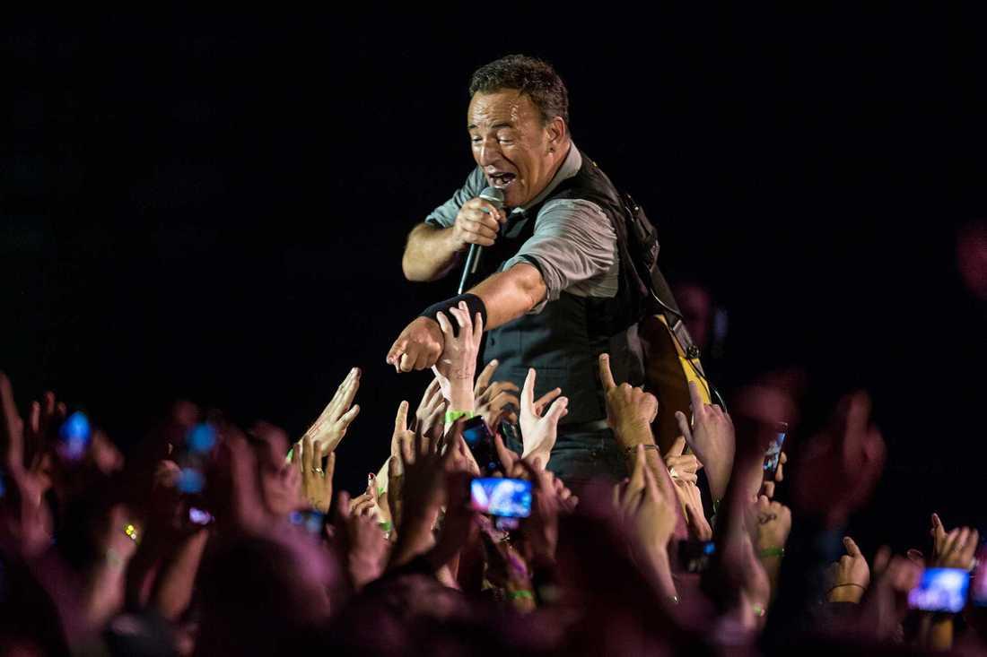 Bruce Springsteen ska på turné.