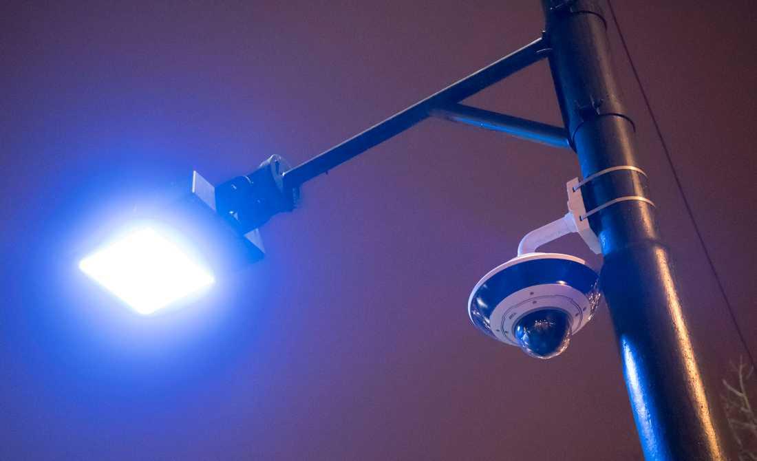 Hundratals nya övervakningskameror kommer att sättas upp. Arkivbild.