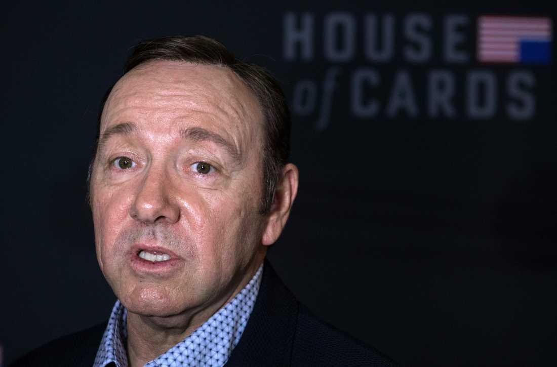 """Kevin Spacey kan skrivas ut ur """"House of cards""""."""
