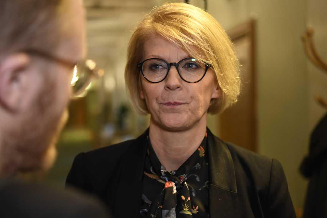 M:s ekonomiska talesperson Elisabeth Svantesson