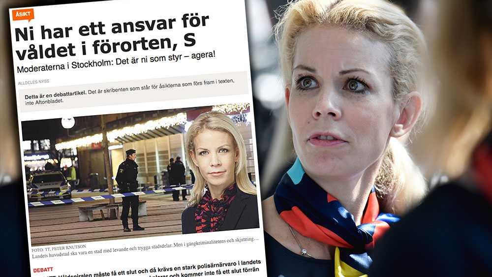 När König Jerlmyr var i opposition, var hennes linje att Stockholm visst kunde lösa skjutningarna och våldet. Vad hände med König Jerlmyrs tankar om att Stockholms stad i stort sett på egen hand skulle fixa detta? Jo, de försvann, skriver debattörerna.