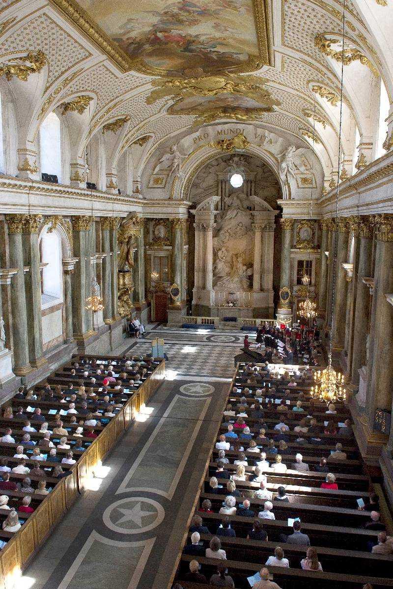 TRADITIONSENLIGT Som traditionen bjuder, så ska prinsessan Madeleine hålla lysning i Slottskyrkan.