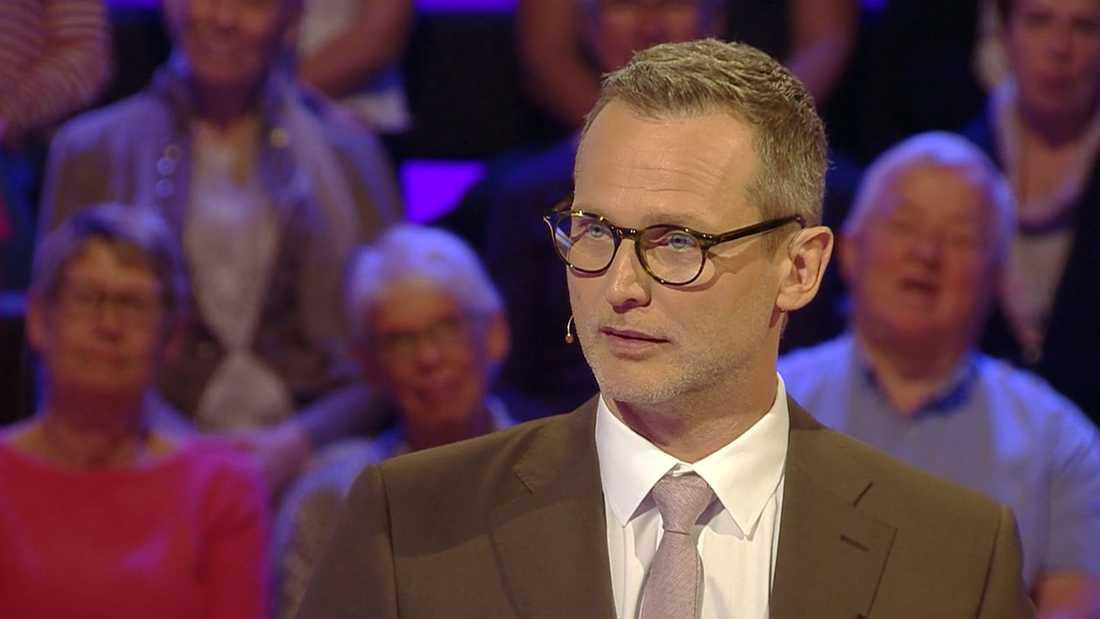 """Rickard Sjöberg i """"Postkodmiljonären""""."""