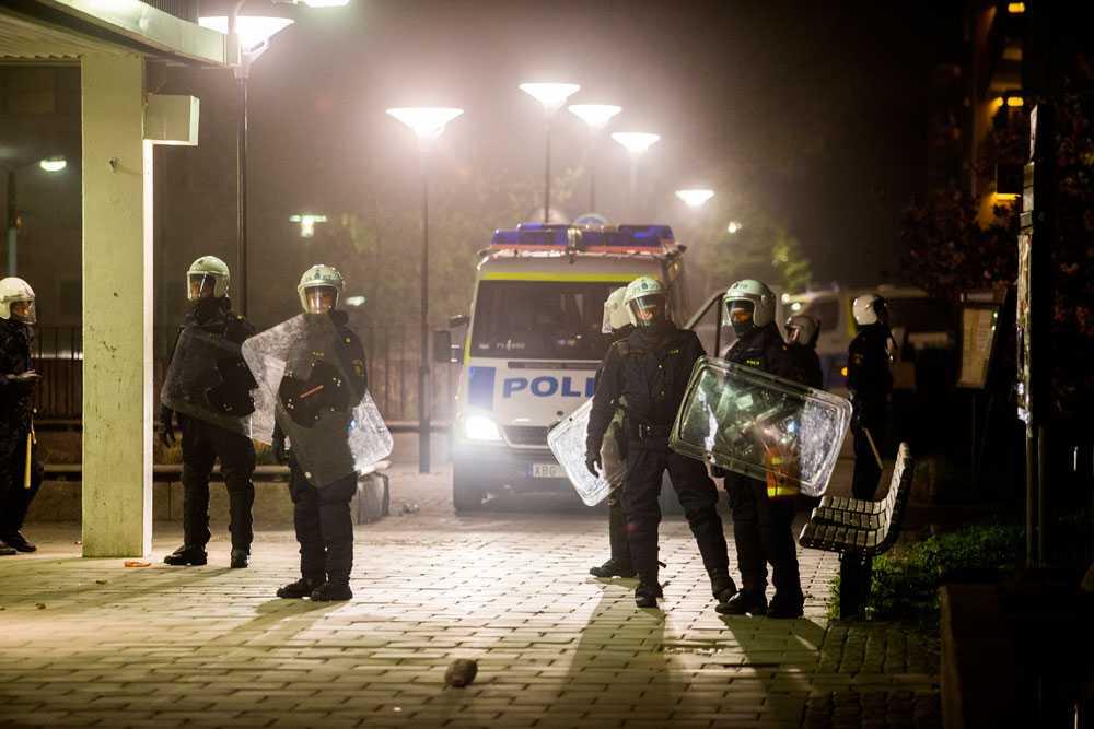 NICLAS HAMMARSTRÖM Polisen stod ofta maktlösa.