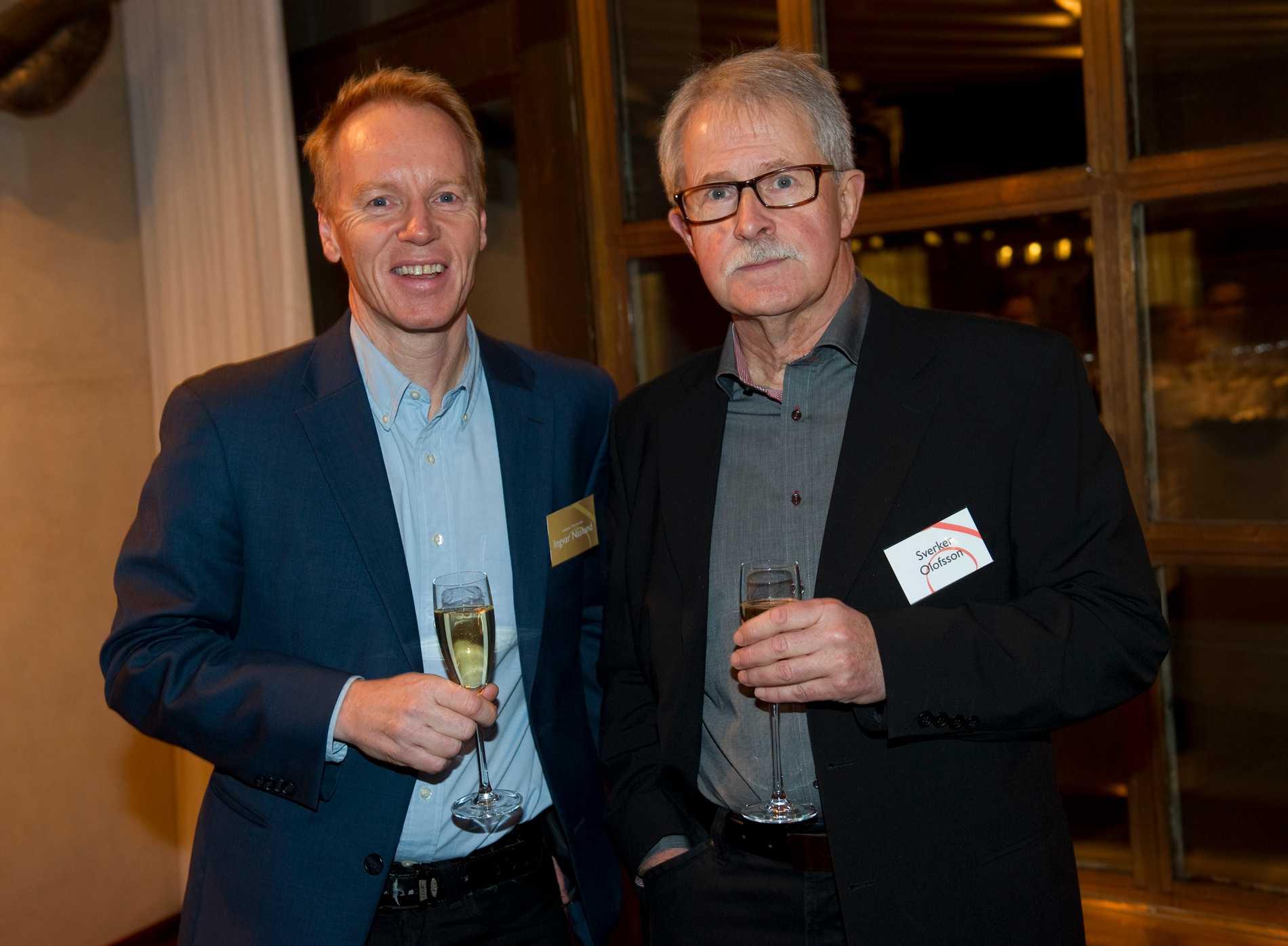 Ingvar Näslund tillsammans med Sverker Olofsson.