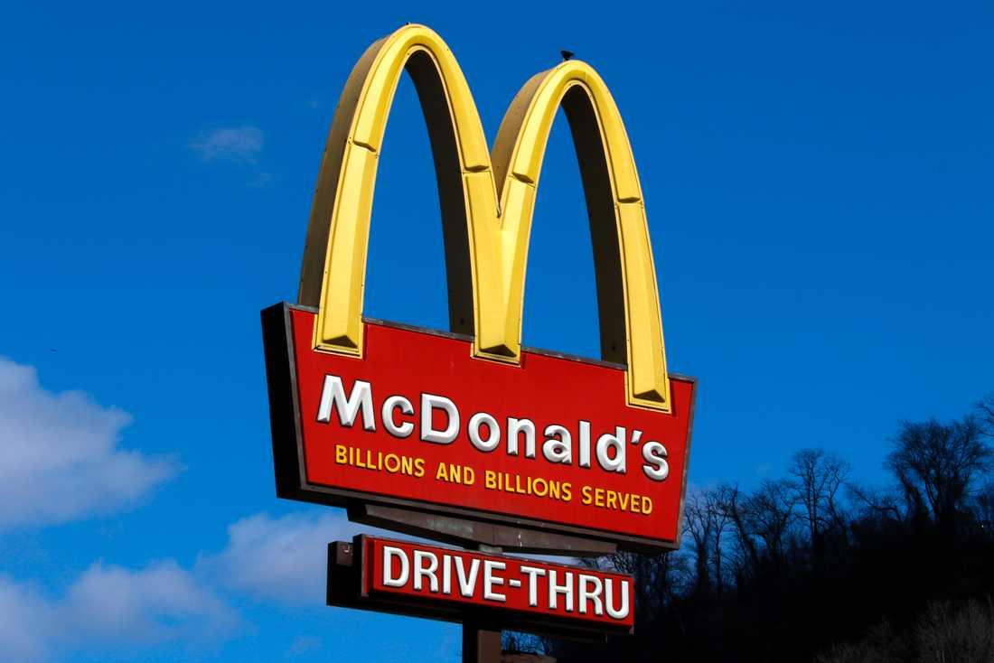 McDonalds-arbetare i tio amerikanska städer strejkar mot sexuella trakasserier. Arkivbild.