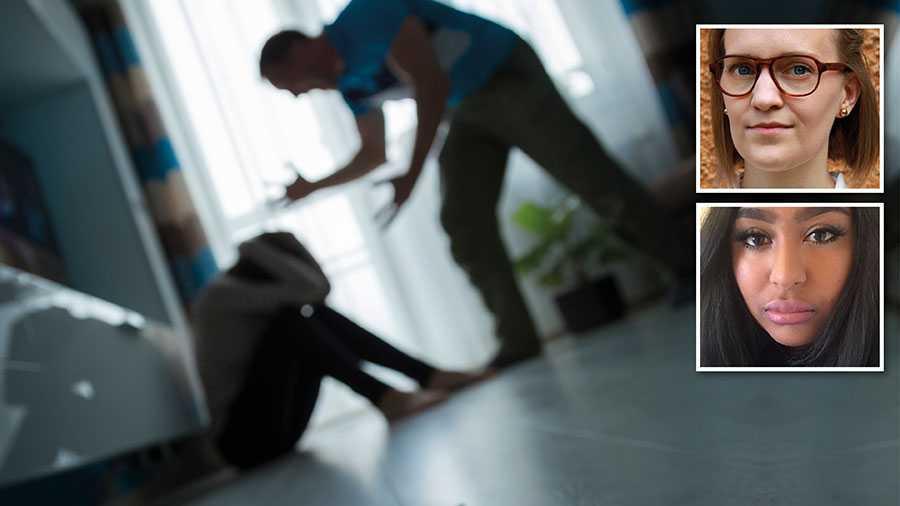 Det finns en grupp som direkt blir extremt utsatt nu när åtgärder som hemarbete är nödvändiga – kvinnor som lever i utsatta relationer. Samhället behöver hitta sätt att skydda dessa kvinnor samtidigt som arbetet med att begränsa spridningen av coronaviruset fortgår, skriver Matilda Göranzon och Jyothi Svahn.