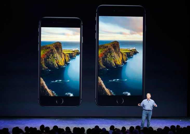Nya Iphone 6 och 6 Plus.