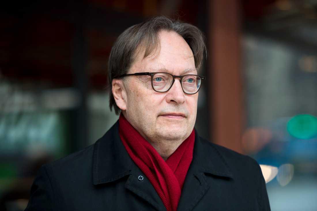 Författaren och ledamoten Horace Engdahl.