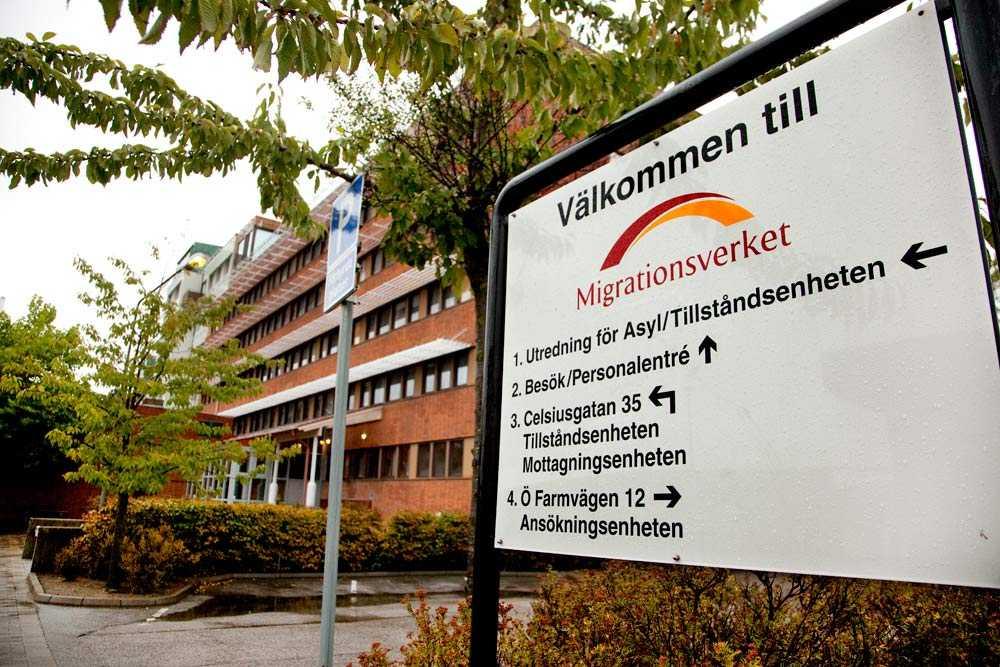 Migrationsverkets lokaler i Malmö.