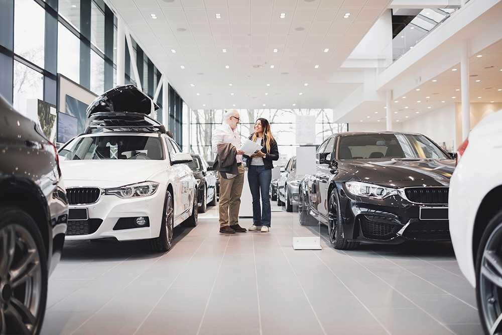 Stor ökning av nya bilar i mars.