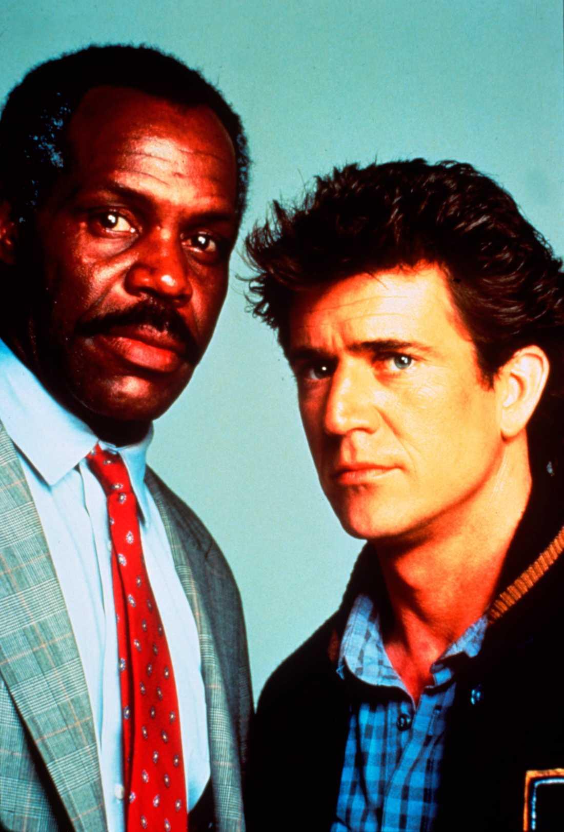 Danny Glover och Mel Gibson.