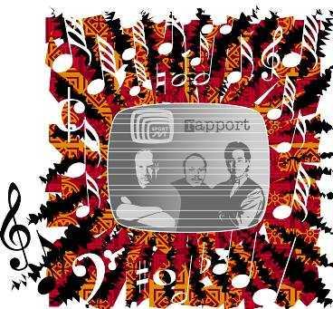 Att göra vinjettmusik är en galen vetenskap. Illustration: Viktor Grut/RITHUSET