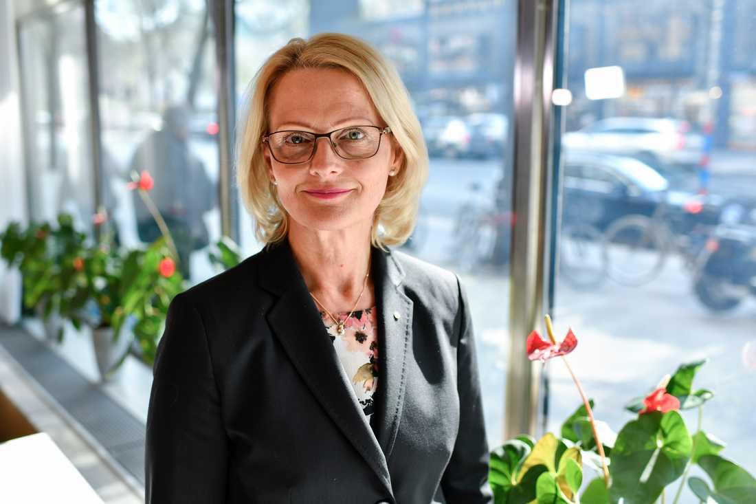 För detta migrationsministern Heléne Fritzon (S) är Socialdemokraternas toppkandidat i EU-valet.