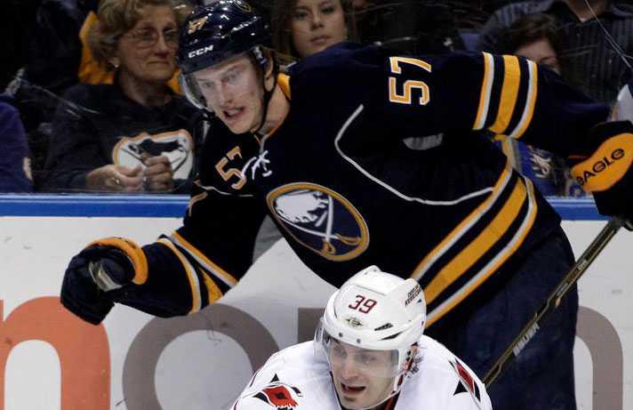 Tyler Myers, 22 år, back, Buffalo Sabres 217 NHL-matcher. Årets rookie i NHL 2010