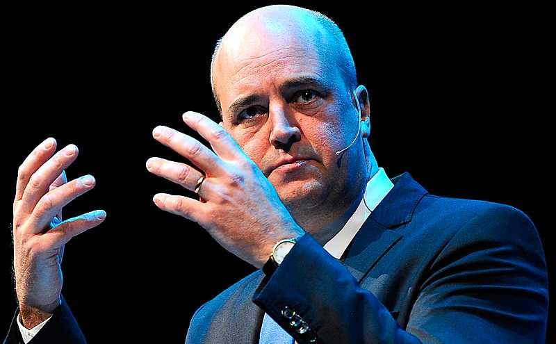 Idélös Fredrik Reinfeldt menar att idéer leder till svält och femårsplaner.