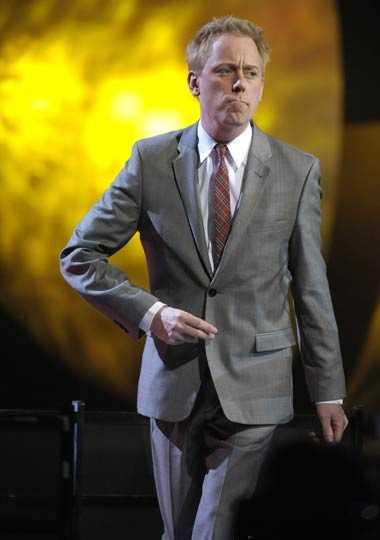 Peter Settman presenterade Årets dansband/schlager.