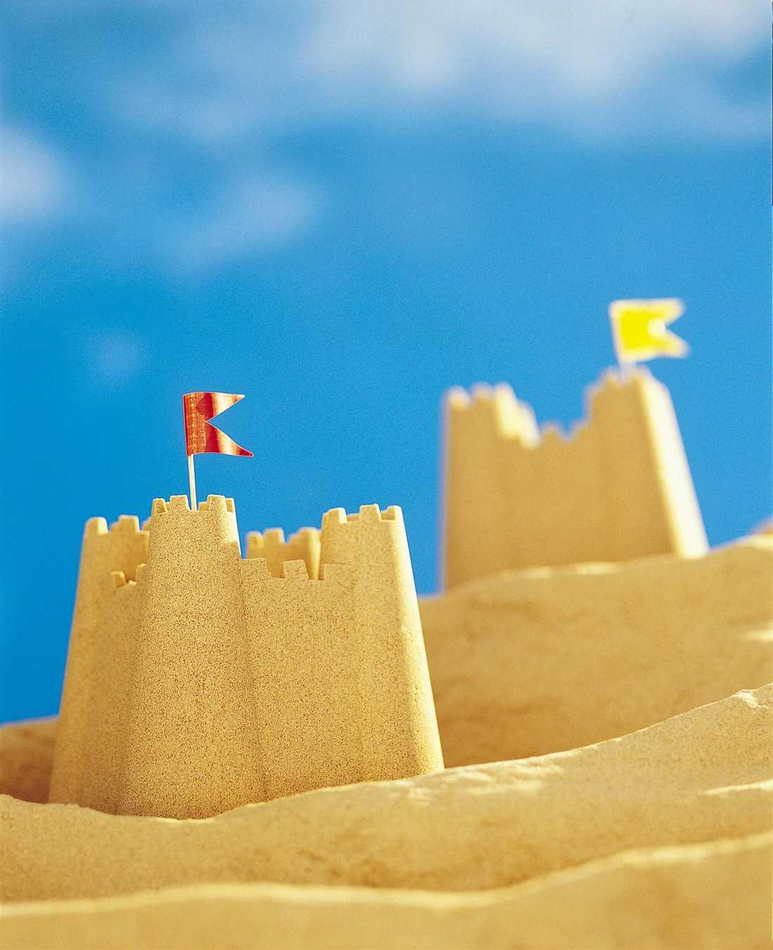 Förbjudet att bygga sandslott i Eraclea.