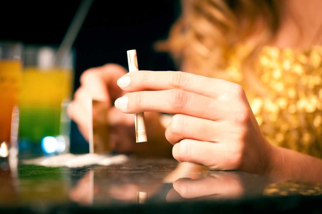 Nöjesbladet hittade misstänkt spår av kokain på Andra chansens efterfest. Bilden är tagen vid ett annat tillfälle.