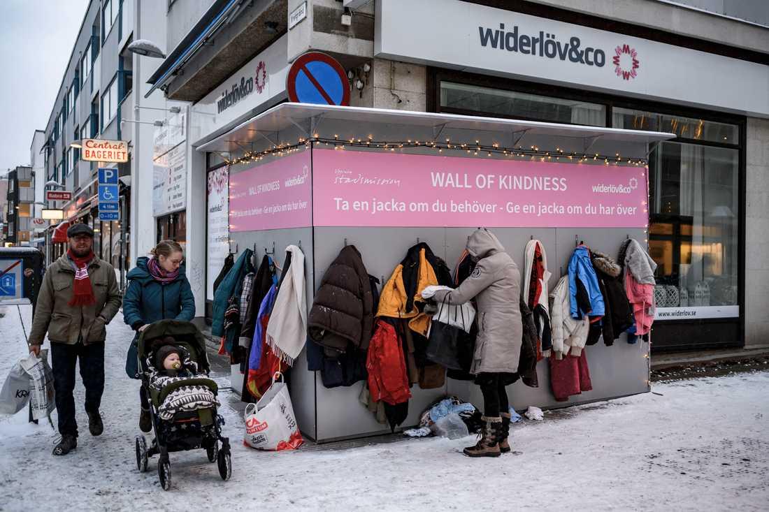 Det är Uppsala Stadsmission och mäklarfirman Widerlöf & Co som ligger bakom initiativet.
