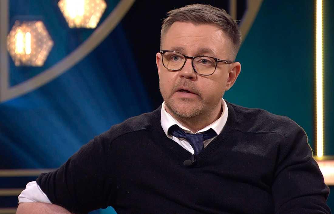 Fredrick Federley under en intervju med Carina Bergfeldt i SVT.