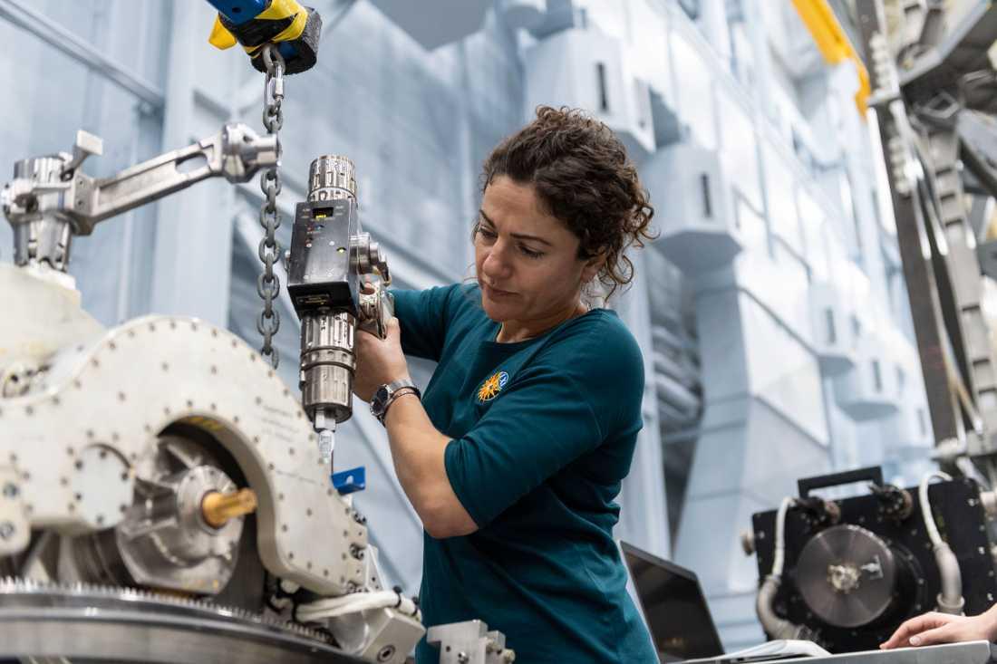 Jessica Meir blir den första svenska kvinnan i rymden.