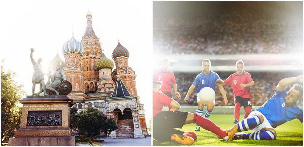 Rekordmånga svenskar bokar resor till Ryssland och fotbolls-VM.