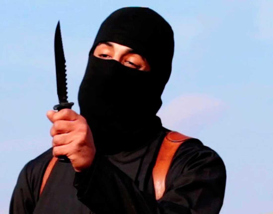 """""""Jihad John"""" från En av IS propagandavideos."""