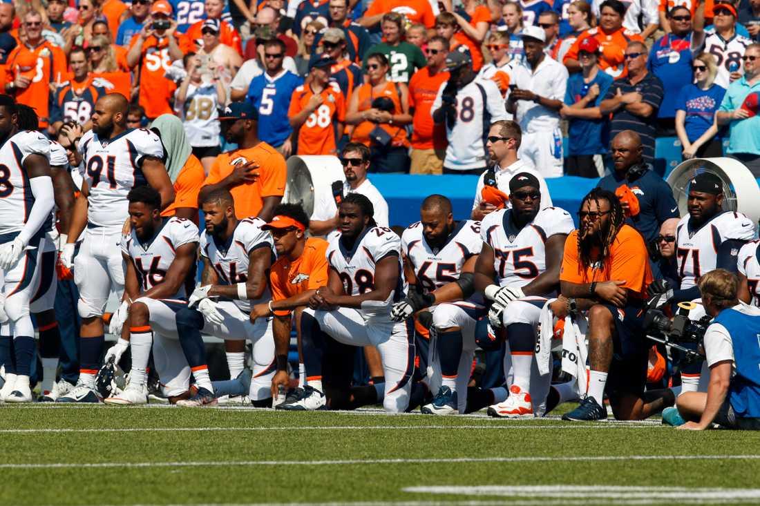 Spelare i Denver Broncos.