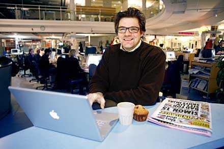Aftonbladets chefredaktör Jan Helin bjuder in hackarna.