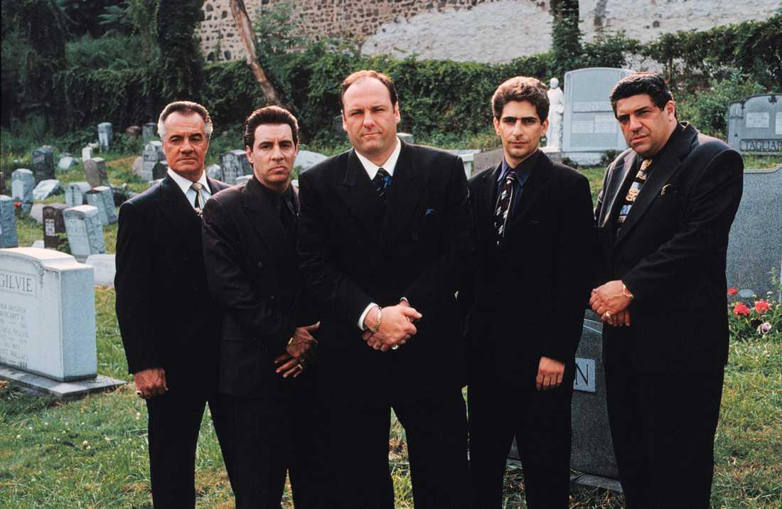"""Michael Imperiole och Steven Schirripa har startat en """"Sopranos""""-podcast."""