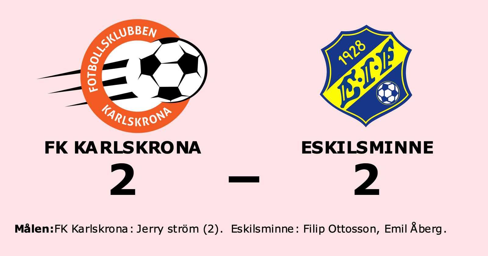 Äntligen är förlustsviten bruten för FK Karlskrona