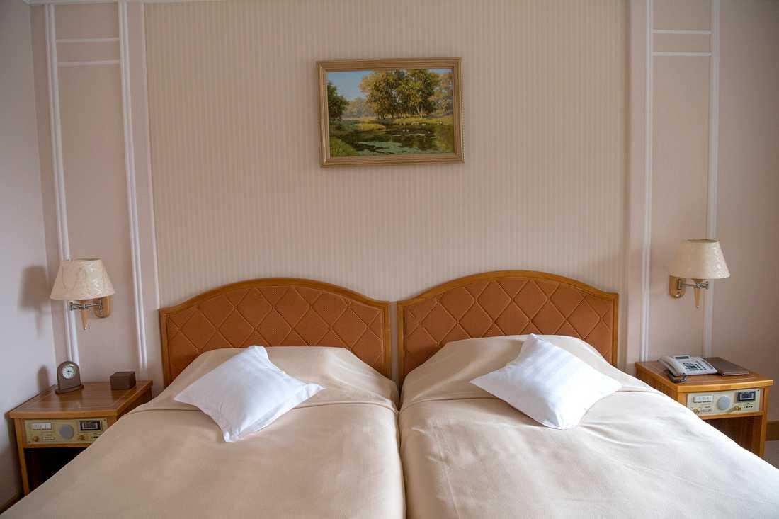 Att bo i det bästa rummet kostar 1 400 dollar natten, motsvarande ungefär 12 500 svenska kronor.
