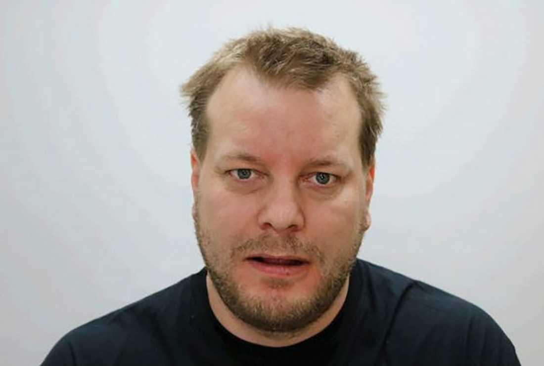 Polisens bild av Daniel Nyqvist som erkänt dubbelmordet i Linköping 2004.
