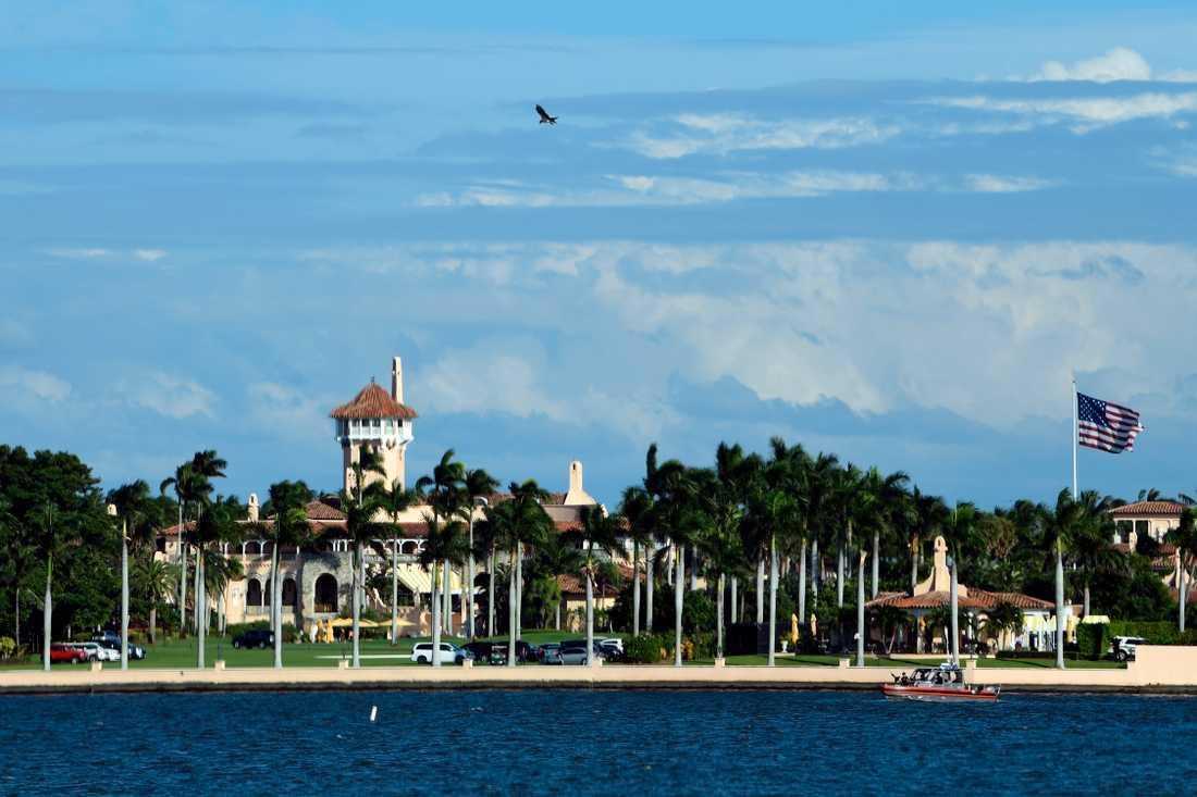 USA:s president Donald Trumps egendom Mar-a-Lago i Florida. Arkivbild.
