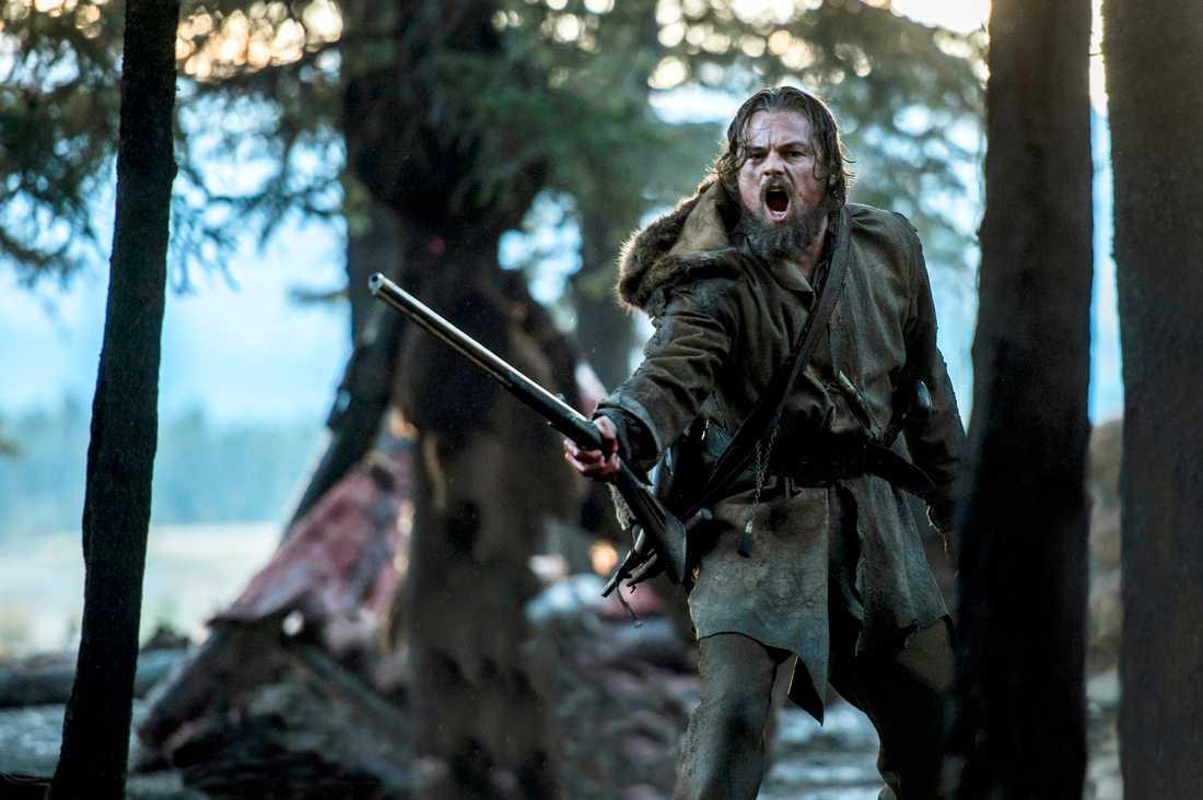 """Leonardo DiCaprio prisades för sin roll i """"The revenant""""."""