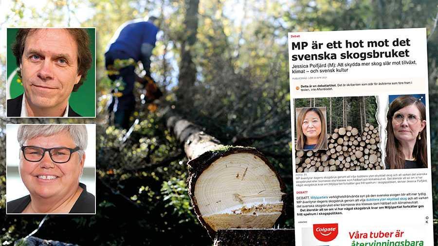 Det måste löna sig för de enskilda skogsägarna i Sverige att skydda natur och bedriva ett skogsbruk där man tar hänsyn till natur- och kulturvärden. Därför behövs en ny grönare skogspolitik. Replik från Pär Holmgren och Maria Gardfjell.