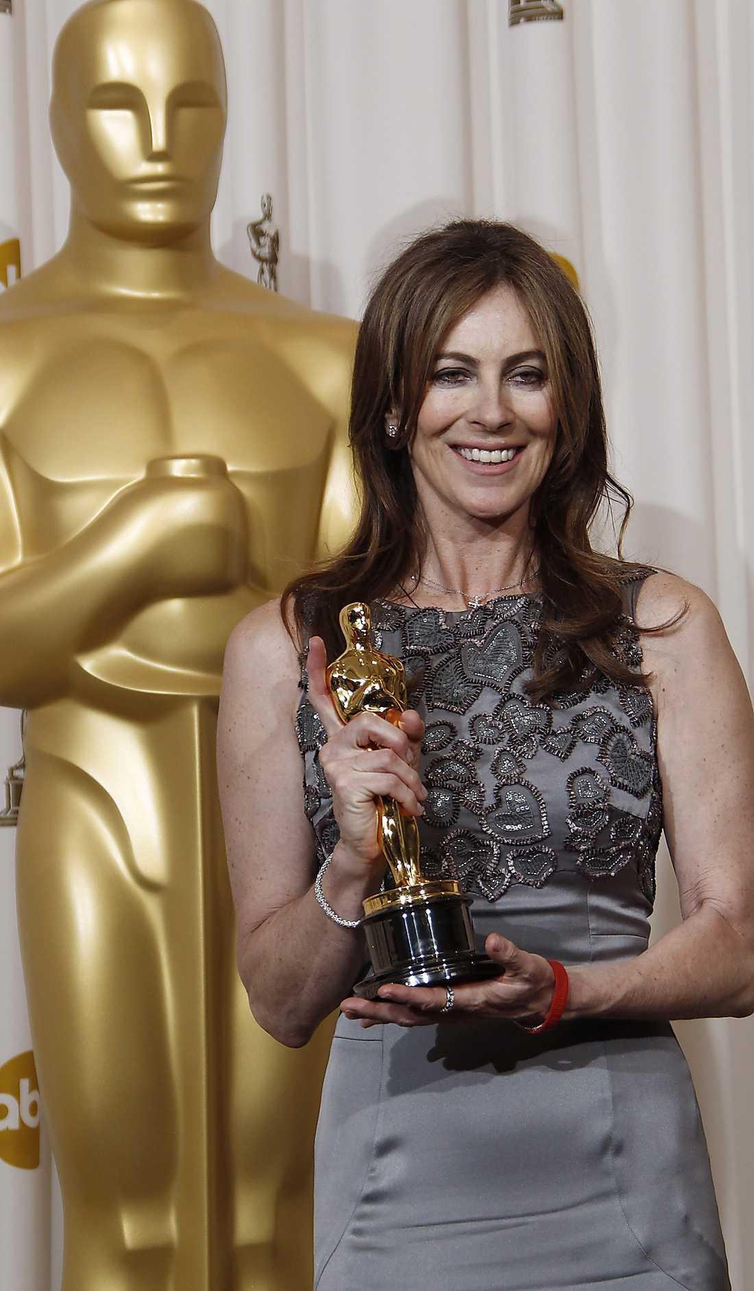 Kathryn Bigelow banar väg för kvinnliga regissörer.