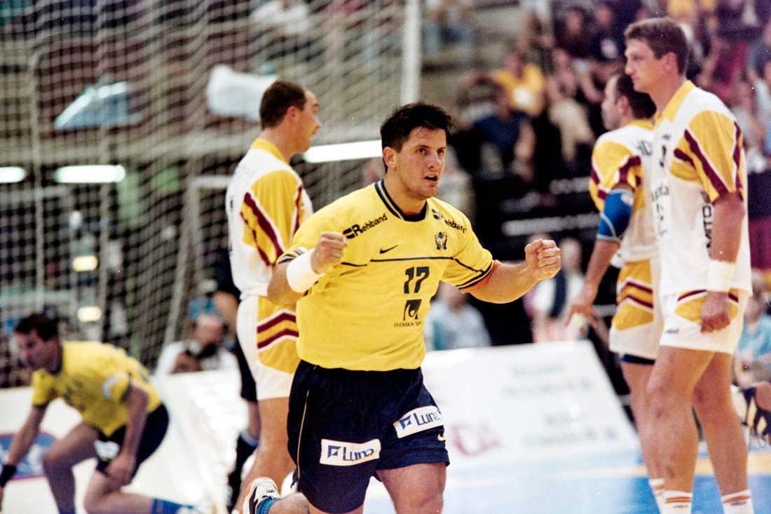 Vranjes under EM 1998 – en turnering Sverige vann.
