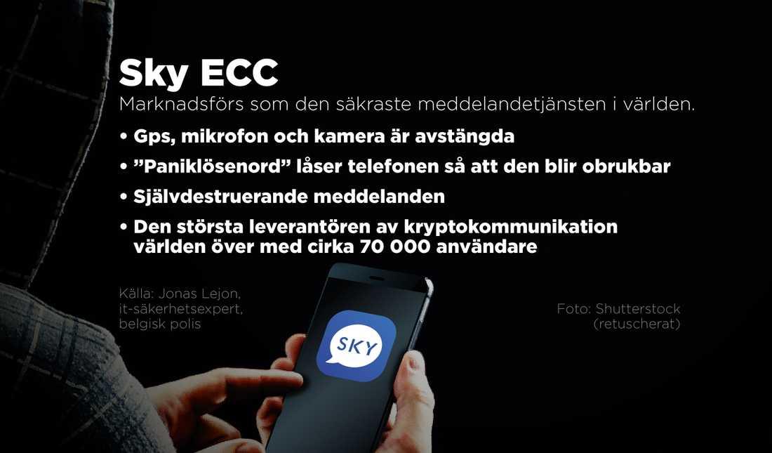 Enligt Sky är det inte deras telefoner som hackats, utan falska kopior.