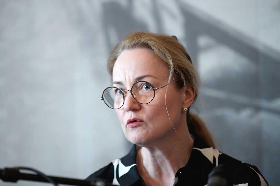 Cancerfondens generalsekreterare Ulrika Årehed Kågström välkomnar förslaget på en satsning som ska ha som mål att utrota livmoderhalscancer i Sverige på sju år. Arkivbild.