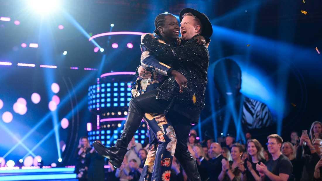 """Freddie kramar om """"Idol""""-vinnaren Tusse."""