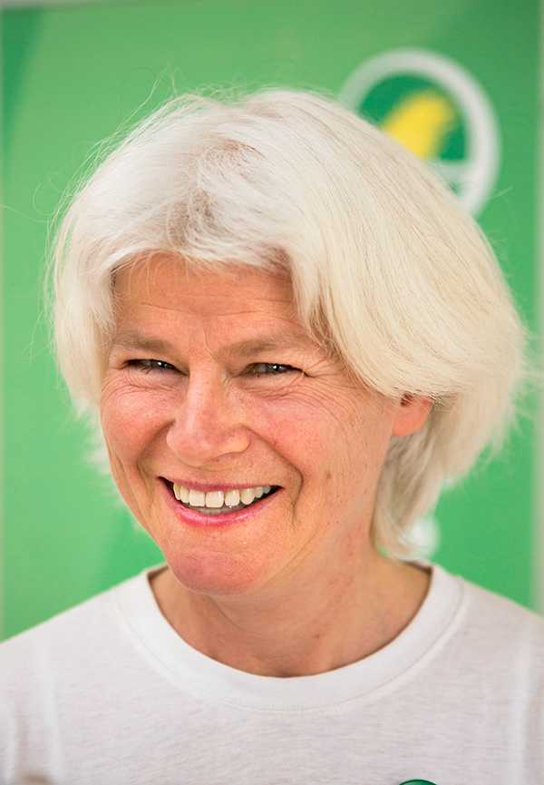 Riksdagsledamoten Karin Svensson Smith (MP).