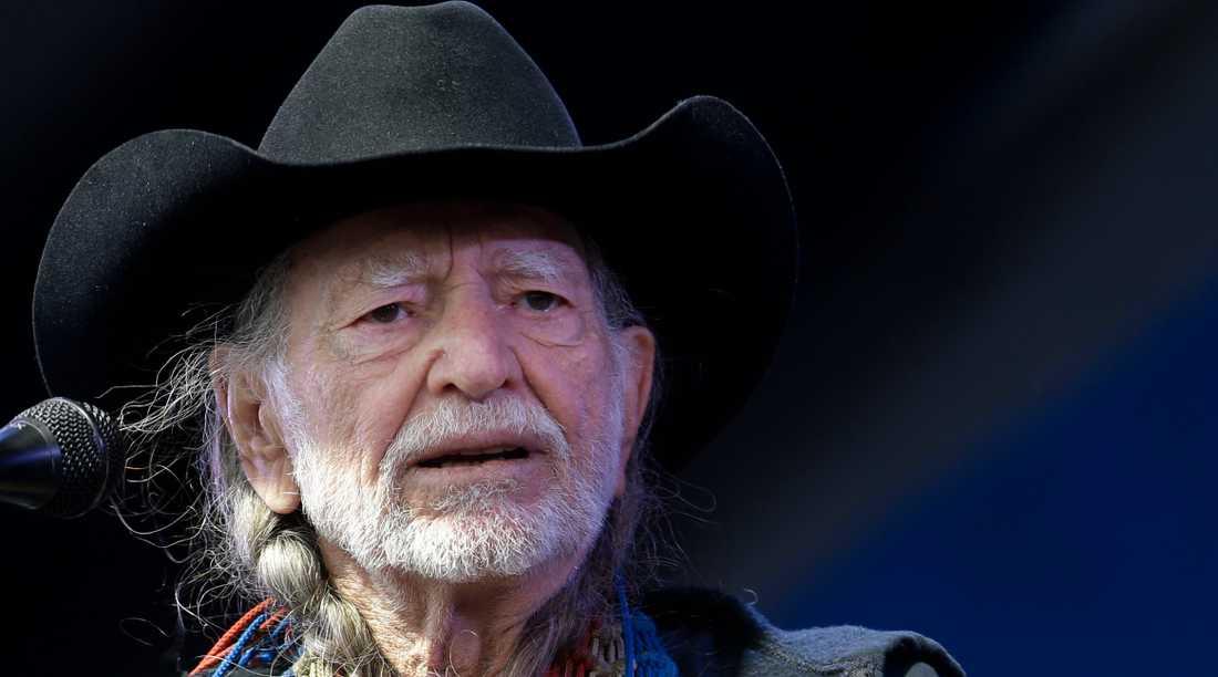 Willie Nelson hade ett turnéstopp i Vita huset 1980.