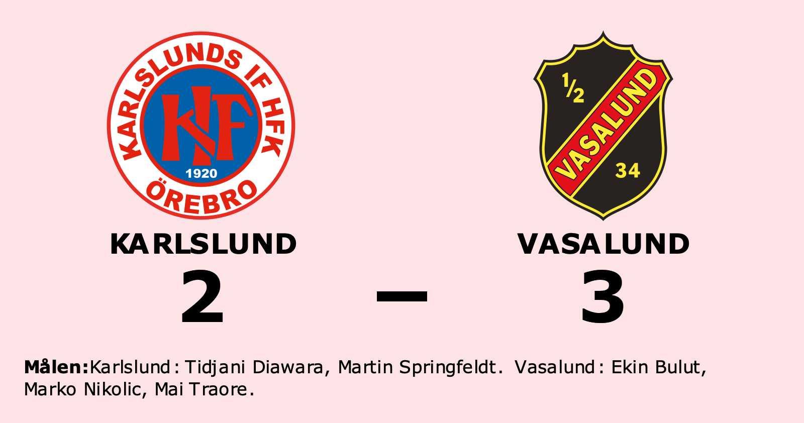 Vasalund fortsätter att vinna