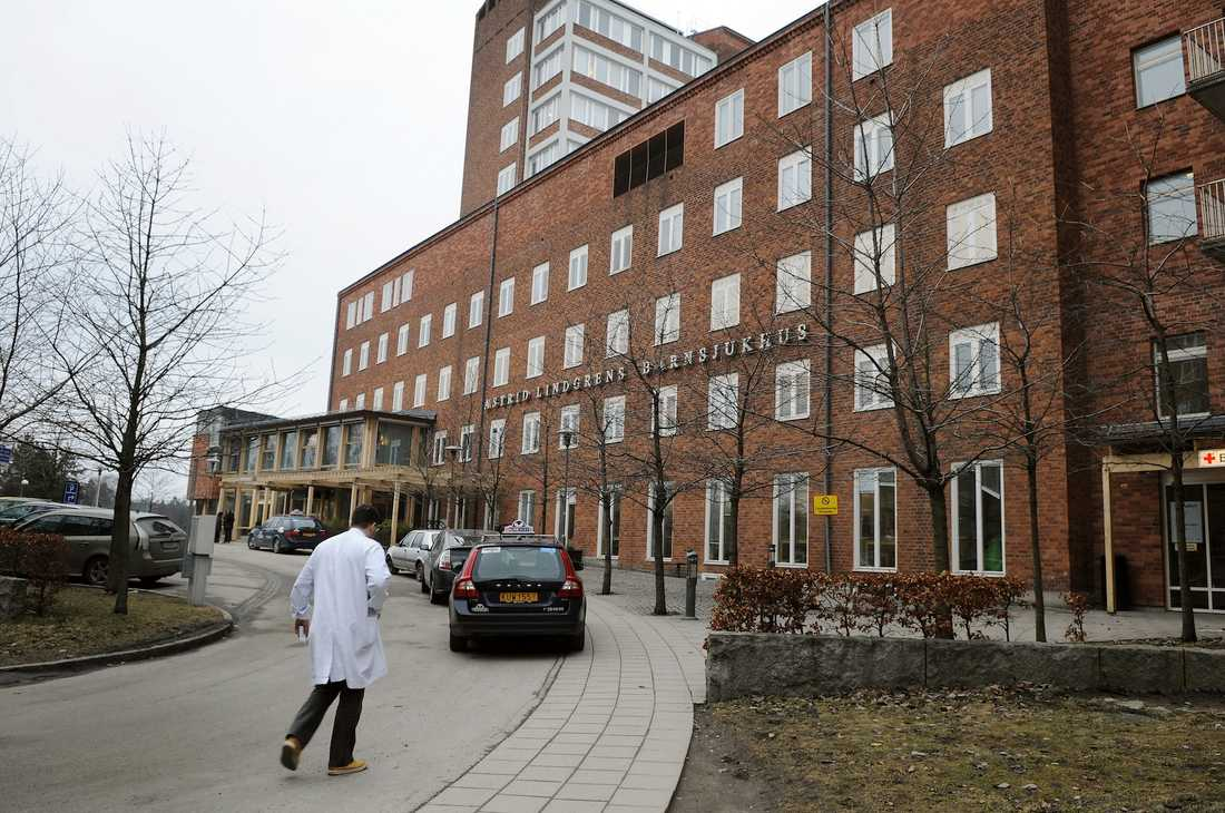 Trångt på landets barnsjukhus. Foto: Johan Wessel.