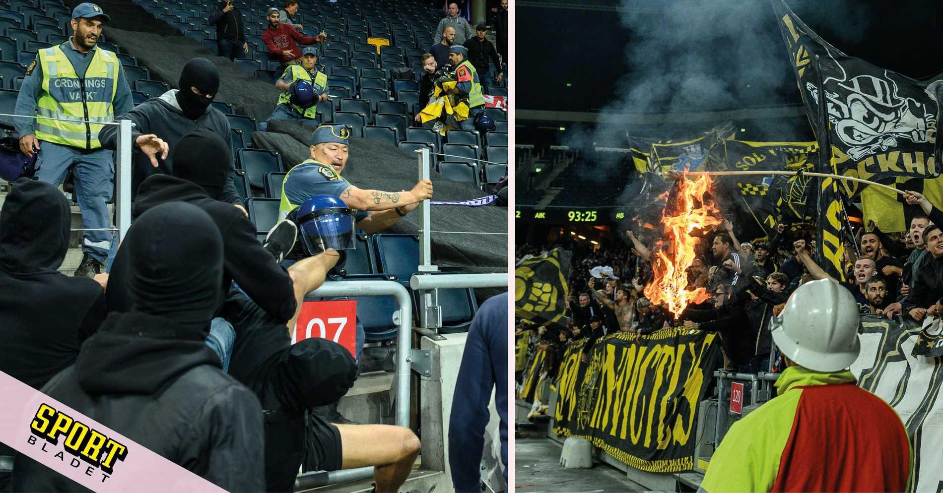 Beskedet: AIK straffas av Uefa