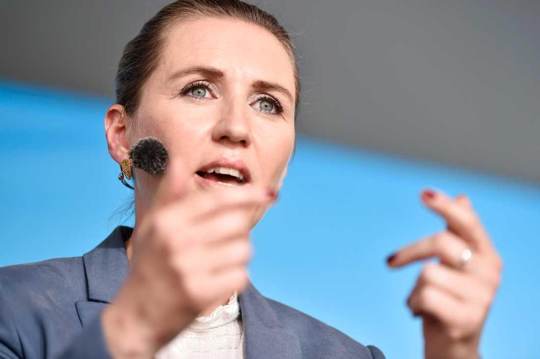 8a5decfdfcc0 Mette Frederiksen tror att en dansk regeringsuppgörelse dröjer minst  ytterligare en vecka. Bilden är tagen